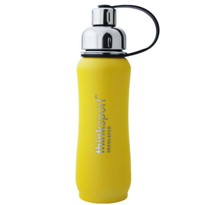 Botella insulada 17oz/500ml amarilla