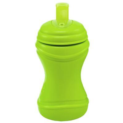 Vaso bombilla ancha anti derrame verde limon
