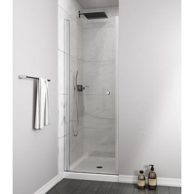 Mampara puerta abatible 700x1900 6mm easy clean