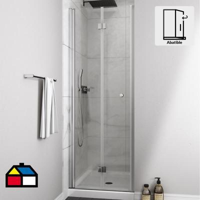 Mampara puerta plegable 700x1900 6mm easy clean