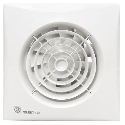 Extractor de aire para baño 100 mm silent-100