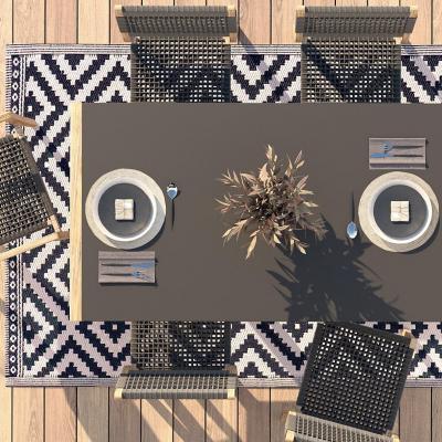 Alfombra terraza 180x120 cm natu
