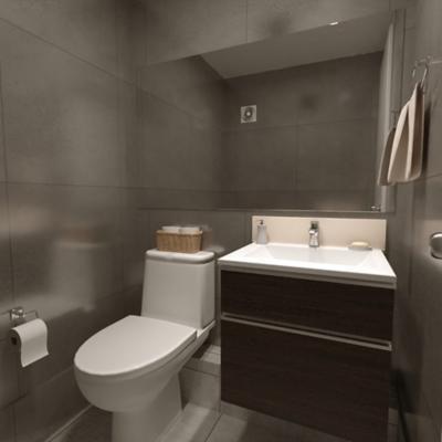 Baño modular visita ejecutivo