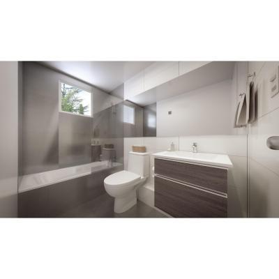 Baño modular tina superior
