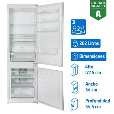 Refrigerador Integrable Combi No Frost