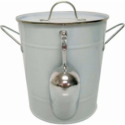 Hielera aluminio 4,6 l blanca