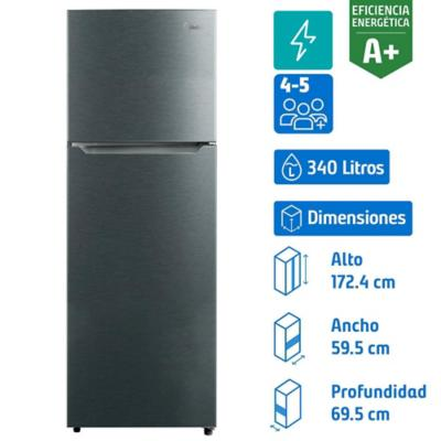 Refrigerador 340 litros no frost top freezer