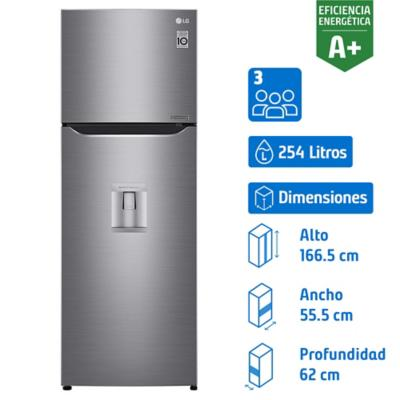 Refrigerador No Frost Top Mount 254 l