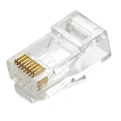 Conectores rj45 cat 5e bolsa 100 unidades