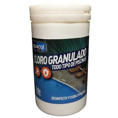 Cloro granulado para aguas piscinas 1 kg