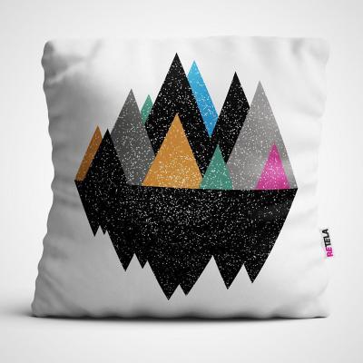 Cojin 45x45 cm ilustración mix montaña