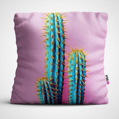 Cojin 45x45 cm ilustración cactus