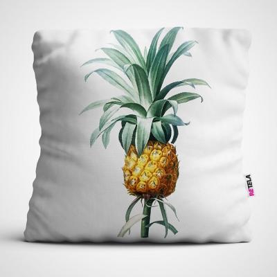 Cojin 45x45 cm ilustración pineapple