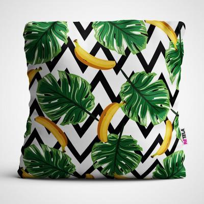 Cojin 45x45 cm ilustración banana