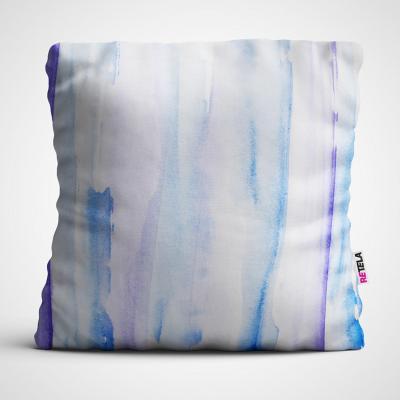 Cojin 45x45 cm ilustración gradien azul
