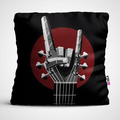 Cojin 45x45 cm ilustración you rock