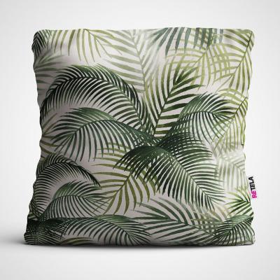 Cojin 45x45 cm ilustración tropical