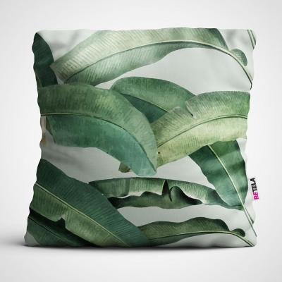 Cojin 45x45 cm ilustración palmeras