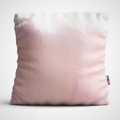 Cojin 45x45 cm ilustración gradien rosa