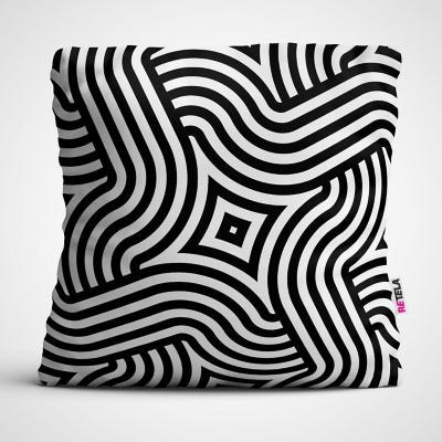 Cojin 45x45 cm ilustración patrones uno