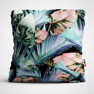 Cojin 45x45 cm ilustración palmas