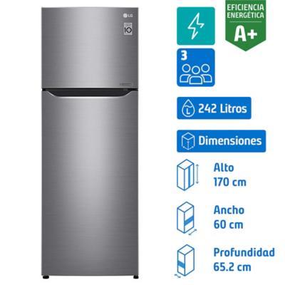 Refrigerador No Frost Top Mount LG 312 litros