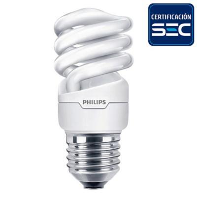 Ampolleta eco twister 23W E27 220-240V 1PF/12 luz cálida