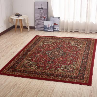 Alfombra Ottohome 150x100 cm Rojo