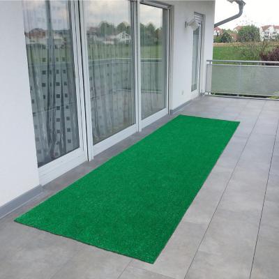 Alfombra Evergreen 244x80 cm Verde