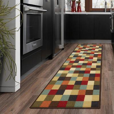 Alfombra pasillo ottohome 60x210 cm multicolor