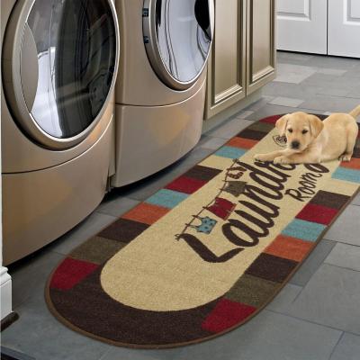 Alfombra pasillo laundry 50x150 cm multicolor