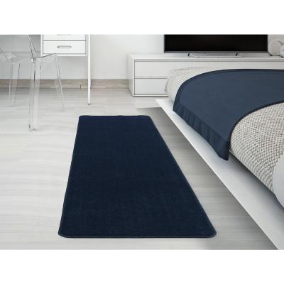 Alfombra pasillo softy 70x180 cm azul