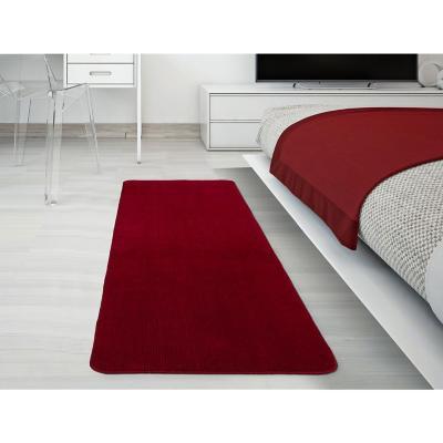 Alfombra pasillo softy 50x150 cm rojo