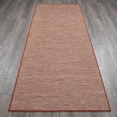 Alfombra pasillo sundance 80x210 cm rojo