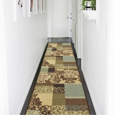 Alfombra pasillo ottohome 60x210 cm café