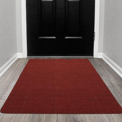 Alfombra pasillo utility 80x150 cm rojo