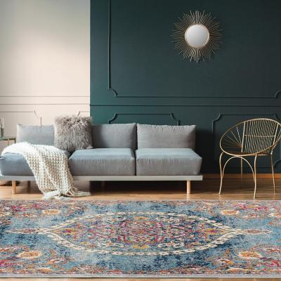 Alfombra Oriental 160x210 cm azul