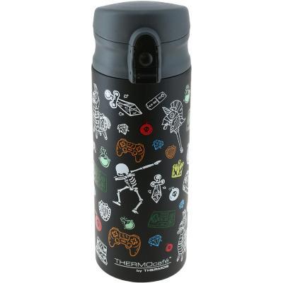 Botella acero acero inoxidable negro 300 ml