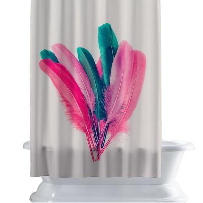 Cortina de baño 150x180 cm plumarte