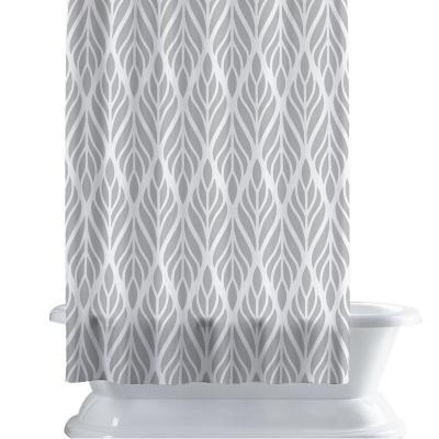 Cortina de baño 150x180 cm hojas