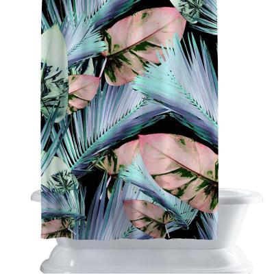 Cortina de baño 150x180 cm vegetación