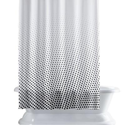 Cortina de baño 150x180 cm punto circular