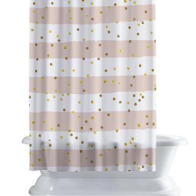 Cortina de baño 150x180 cm punto y linea