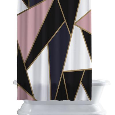 Cortina de baño 150x180 cm angular