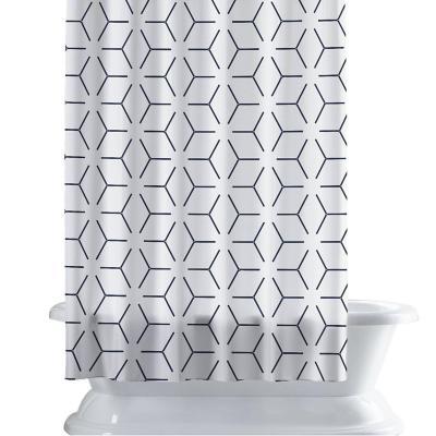 Cortina de baño 150x180 cm cubox