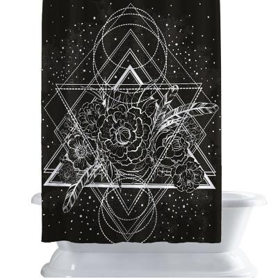 Cortina de baño 150x180 cm constelación