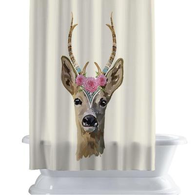 Cortina de baño 150x180 cm minimal