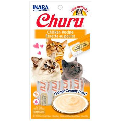 Churu snack puré gatos pollo
