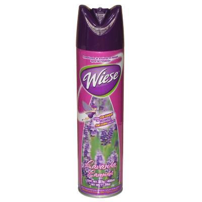 Aromatizante aerosol lavanda 400 ml 12 unidades