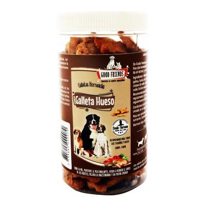 Galleta para perro grado humano hueso 450 gr sabor carne